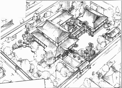Tendo house layout
